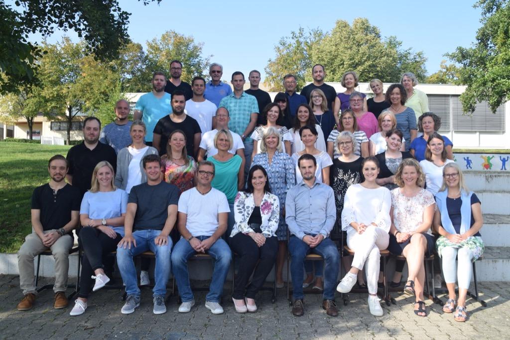 Das Kollegium im September 2018