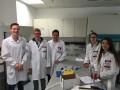 Can zusammen mit anderen Praktikanten als Chemielaborant bei Greiner Bio-One