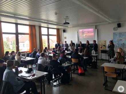 Besuch des Regierungspräsidiums Stuttgart